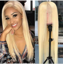 YouMi Hair Brazilian Virgin Hair Color 613 Lace Front Wig&Full Lace Wig In stock (YM0030)