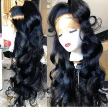 Youmi Hair Loose Wave 360 Wig Pre Plucked Natural Color Human Hair wigs(YM0024)