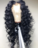Youmi Human Virgin Hair Curl Pre Plucked 13x6 Lace Front Wig And Full Lace Wig For Black Woman Free Shipping (YM0065)