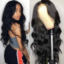 Youmi Human Virgin Hair Pre Plucked 13x6 Lace Front Wig And Full Lace Wig For Black Woman Free Shipping (YM0070)