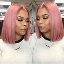 Youmi Human Virgin Hair Pre Plucked Ombre BOB 5x5 Lace Front Wig And Full Lace Wig For Black Woman Free Shipping (YM0079)