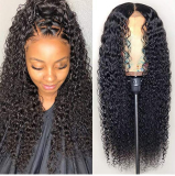 Youmi Human Virgin Hair Pre Plucked 13x6 Lace Front Wig And Full Lace Wig For Black Woman Free Shipping (YM0091)