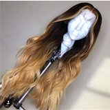 Youmi Human Virgin Hair Pre Plucked 13x6 Lace Front Wig And Full Lace Wig For Black Woman Free Shipping (YM0092)
