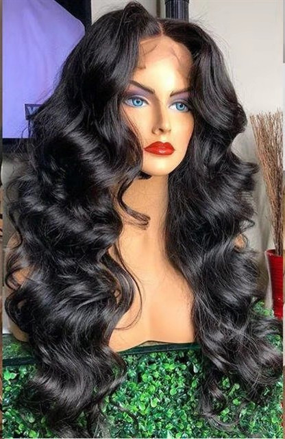 Youmi Human Virgin Hair Pre Plucked 13x6 Lace Front Wig And Full Lace Wig For Black Woman Free Shipping (YM0096)