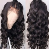 Youmi Human Virgin Hair Pre Plucked 13x6 Lace Front Wig And Full Lace Wig For Black Woman Free Shipping (YM0095)