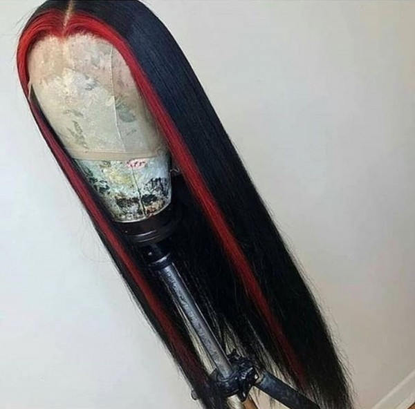 Youmi Human Virgin Hair Pre Plucked 13x6 Lace Front Wig And Full Lace Wig For Black Woman Free Shipping (YM0093)