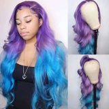 Youmi Human Virgin Hair Pre Plucked Ombre 5x5 Lace Front Wig And Full Lace Wig For Black Woman Free Shipping (YM0108)