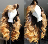 Youmi Human Virgin Hair Pre Plucked 13x6 Lace Front Wig And Full Lace Wig For Black Woman Free Shipping (YM0118)