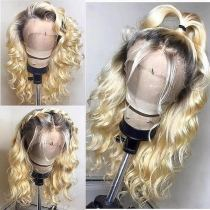 Youmi Human Virgin Hair Pre Plucked Ombre Lace Front Wig And Full Lace Wig For Black Woman Free Shipping (YM0128)