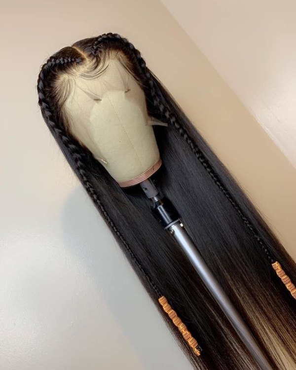 Youmi Human Virgin Hair Pre Plucked 13x6 Lace Front Wig And Full Lace Wig For Black Woman Free Shipping (YM0137)