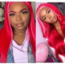 Youmi Human Virgin Hair Pre Plucked Ombre 5x5 Lace Front Wig And Full Lace Wig For Black Woman Free Shipping (YM0141)