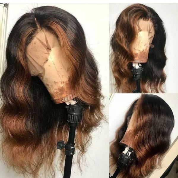 Youmi Human Virgin Hair Pre Plucked 13x6 Lace Front Wig And Full Lace Wig For Black Woman Free Shipping (YM0150)