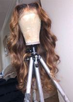 Youmi Human Virgin Hair Pre Plucked Ombre Lace Front Wig And Full Lace Wig For Black Woman Free Shipping (YM0148)