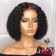 Youmi Human Virgin Hair Pre Plucked 13x6 Lace Front Wig And Full Lace Wig For Black Woman Free Shipping (YM0165)