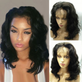 Youmi Human Virgin Hair Pre Plucked 13x6 Lace Front Wig And Full Lace Wig For Black Woman Free Shipping (YM0171)