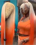 Youmi Human Virgin Hair Pre Plucked Ombre Lace Front Wig And 5x5 Full Lace Wig For Black Woman Free Shipping (YM0185)