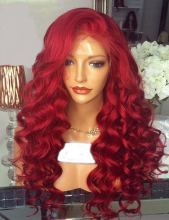 Youmi Human Virgin Hair Pre Plucked Ombre Lace Front Wig And Full Lace Wig For Black Woman Free Shipping (YM0209)