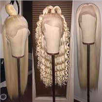 YouMi Human Virgin Hair 613 Pre Plucked Lace Front Wig And 5x5 Lace Wig For Black Woman Free Shipping (YM0214)