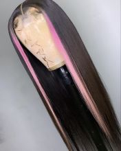 Youmi Human Virgin Hair Pre Plucked Ombre Lace Front Wig And Full Lace Wig For Black Woman Free Shipping (YM0218)