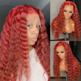 Youmi Human Virgin Hair Pre Plucked Ombre Lace Front Wig And 5x5 Lace Wig For Black Woman Free Shipping (YM0221)