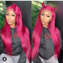Youmi Human Virgin Hair Pre Plucked Ombre Lace Front Wig And 5x5 Lace Wig For Black Woman Free Shipping (YM0239)
