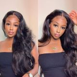 Youmi Human Virgin Hair Pre Plucked Curly HD Swiss Lace Front Wig And Full Lace Wig For Black Woman Free Shipping (YM0242)