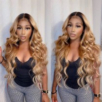 Youmi Human Virgin Hair Pre Plucked Curly HD Swiss Lace Front Wig And Full Lace Wig For Black Woman Free Shipping (YM0245)