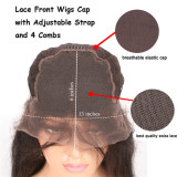 Youmi Human Virgin Hair Curl Pre Plucked 13x6 Lace Front Wig And Full Lace Wig For Black Woman Free Shipping (YM0063)