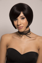 Youmi Human Virgin Hair Pre Plucked Full Machine Wig For Black Woman Free Shipping (MARIE)