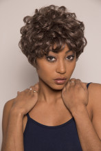Youmi Human Virgin Hair Pre Plucked Full Machine Wig For Black Woman Free Shipping (CAROLYN)