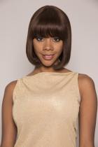 Youmi Human Virgin Hair Pre Plucked Full Machine Wig For Black Woman Free Shipping (AALAHNI)