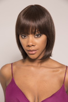 Youmi Human Virgin Hair Pre Plucked Full Machine Wig For Black Woman Free Shipping (JOSE PHINE)