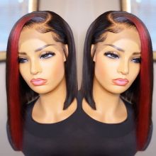 Youmi Human Virgin Hair Pre Plucked Curly Lace Front Wig And Full Lace Wig For Black Woman Free Shipping (YM0253)