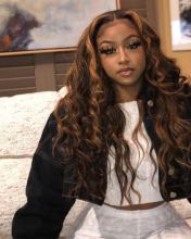 YouMi Hair SUMMERELLA Lace Front Wig and 5x5Transparent Lace Wig Pre Plucked Human Hair for Black Beauty (YM0271)