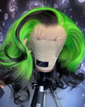 Youmi Human Virgin Hair Pre Plucked Ombre Lace Front Wig And 5x5 Lace Wig For Black Woman Free Shipping (YM0275)