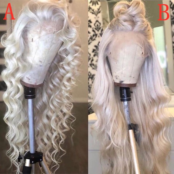 Youmi Human Virgin Hair Pre Plucked Ombre Lace Front Wig And 5x5 Lace Wig For Black Woman Free Shipping (YM0281)