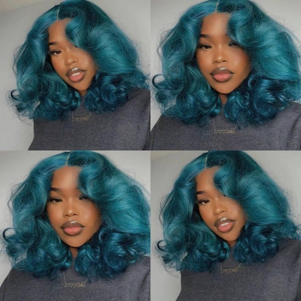 Youmi Human Virgin Hair Pre Plucked Ombre Lace Front Wig And 5x5 Lace Wig For Black Woman Free Shipping (YM0276)