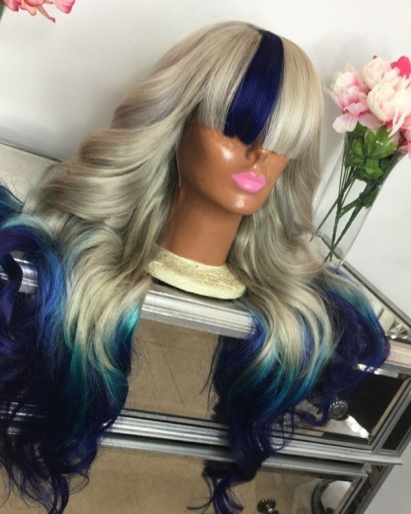 Youmi Human Virgin Hair Pre Plucked Ombre Lace Front Wig And 5x5 Lace Wig For Black Woman Free Shipping (YM0290)