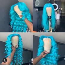 Youmi Human Virgin Hair Pre Plucked Ombre Lace Front Wig And 5x5 Lace Wig For Black Woman Free Shipping (YM0292)