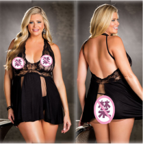 Sexy Lace Nightress Babydoll Lingerie YQ-892