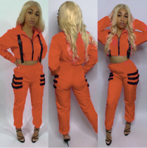 Casual Long Sleeve Tracksuit Two Piece Set TEN-3307