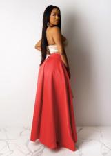 Sexy High Waist Split Irregular Long Maxi Skirt FNN-8350