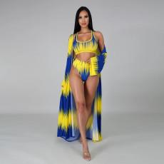 Sexy Swimsuit Print Bikini Set CYA-8601