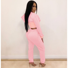 Plus Size Hoodies Pants Two Piece Sets BLI-2137