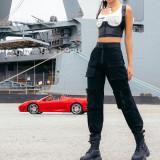 Fashion New PU Leather Slim Fit Vest SXE-1734491