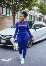Casual Hooded Long Sleeve 2 Piece Jogger Sets AIL-123