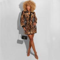 Fashion Printed Long Sleeve Blouses LS-0324