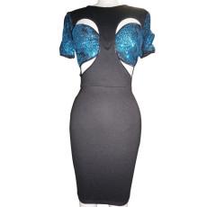 Sexy Sequined Patchwork Club Dress CYA-8738