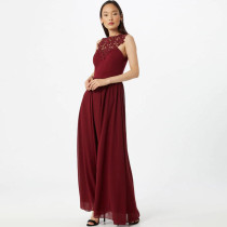 Elegant Sleeveless High Waist Long Evening Dress CYA-8682