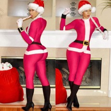 Santa Jumpsuit (With Christmas Hat) LS-0230